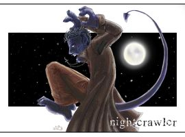 Moon lit Crawler by greensprout