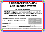 The Jeremy Kyle Show Game-Fi Certificate by LevelInfinitum