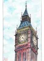 Big Ben by Andrew-Willson