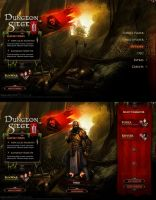 Dungeon Siege III - UI by Forza27