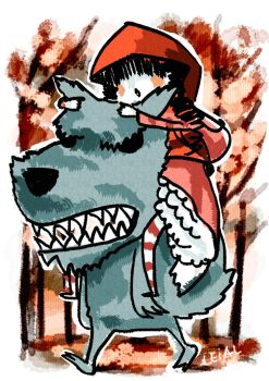 Little Red Riding Hood by satsukiangel
