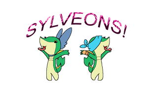 Sylveon Sisters by GrovyleFangirl1997