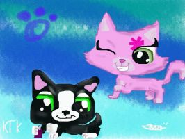 Littlest Pet Shop Webizodes  Fanart by Rikokitten