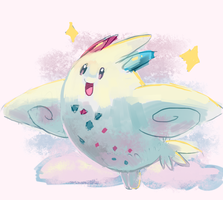 Togekiss by sweating
