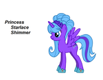 Princess Starlace Shimmer by coco3cookies