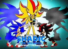 Shadic the Hedgehog by gamefreak2008