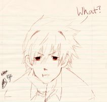 What? // Soul Eater // Soul Eater Evans by Sexualwhaledude