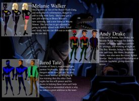 Batman Beyond: Profiles by NanaCloud