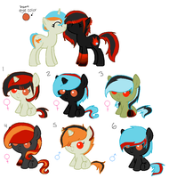 Foals 2- For Dulcet-Adopts CLOSED by Rainbow-ninja-adopts