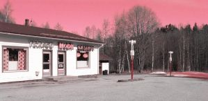 Old Gas Station by Rovis2