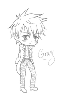 :Fairy Tail: Gray by Yumidog