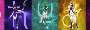 Outer Sailor Senshi Infinity by Glory-Day