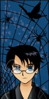 Watanuki Yukata Bookmark by Vashtastic