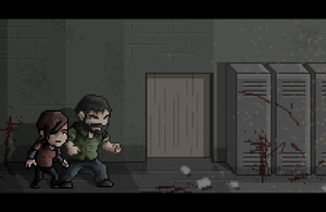 The Last of Us Pixel Art by LuizHD