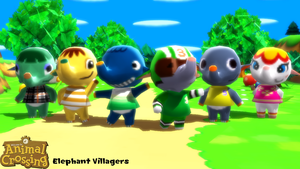 (MMD Model) Elephant Villagers Download by SAB64