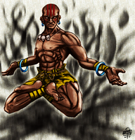 Dhalsim by leseraphin