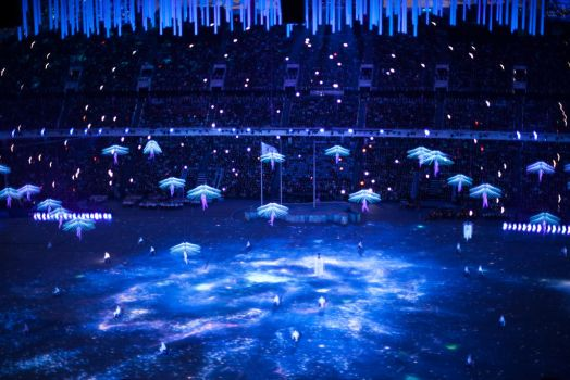 the closing of the Paralympic games by Svetlyachochek