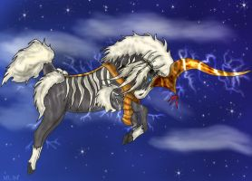 Ixion The Lightning Aeon by WolvesMoon