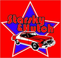 Starsky and Hutch's Torino by estesgraphics