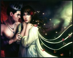 Hades and Persephone by JoJoesArt