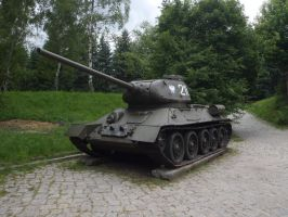 T-34.85 I by WormWoodTheStar
