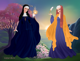 Medieval Female Scientists by Pelycosaur24