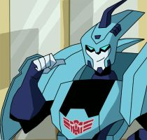 Blurr - Transformers Animated by Sheppard56