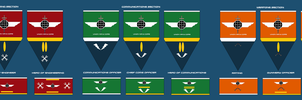 Ship Section Ranks and Insignia Part 1: by EmperorMyric