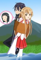 .: SAO : My turn to carry you :. by Sincity2100