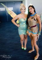 Tink and Pocahontas by Indefinitefotography