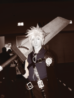 Cosplay - cloud by palmereap