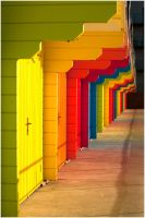 Beach Huts by P11OTO