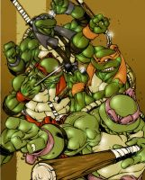 canibus ninja turtles colored by shalomone