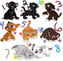 ..::Cub Adopts - Cheap::.. by xChesirex