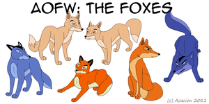 AOFW: The Foxes by Acacion