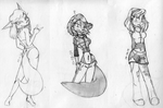 Old Sketches 2008-2010 by G4MM43T4
