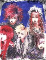 -Dir en Grey-.pencil.x_x by Bitterkawaii