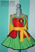 Robin Cosplay Pinafore Dress - Accessory by DarlingArmy