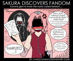 Sakura discovered fandom. by x-Aiko-chan-x