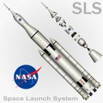 SLS Space Launch System by Emigepa