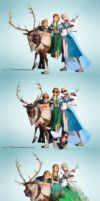 Frozen Fever - Picture Changes by Simmeh