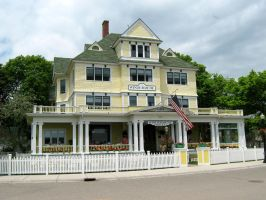 Mackinac Island House 4 by Jenna-RoseStock
