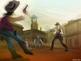 high noon by psmonkey