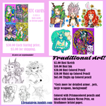 Traditional Art Commissions by lilena