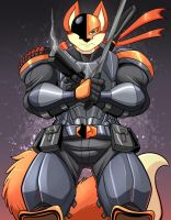 Deathstroke (Fox) by Kleiny