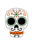 Calavera by MightyDeez