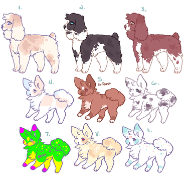 OPEN l Point/paypal adopts!! by Sno-berry