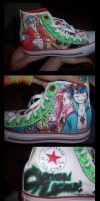 PEIRCE THE HEAVENZZZZ shoes by is-teh-lurvz