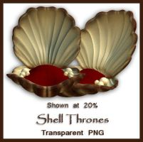 Shell Throne by shd-stock