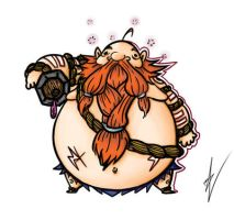 LOL: Gragas by JollyMaw